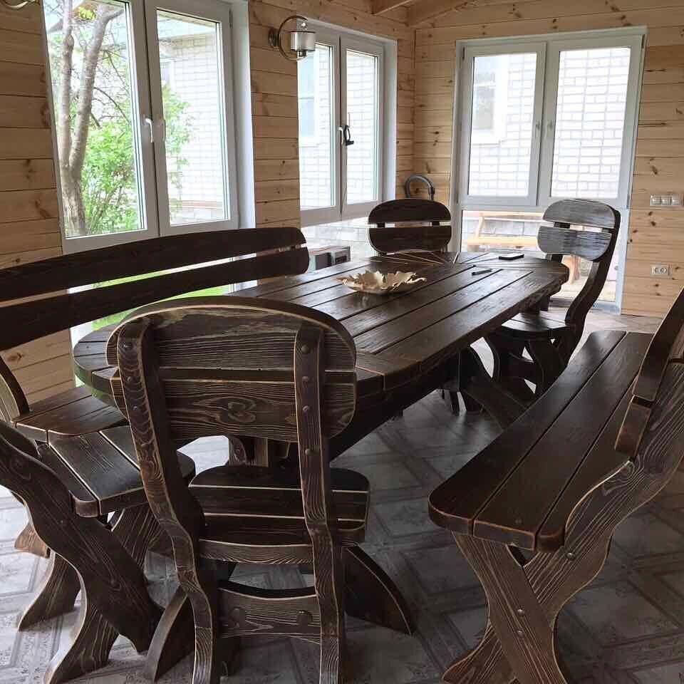 Набор мебели для дачной гостиной
